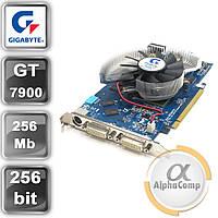 Видеокарта PCI-E NVIDIA Gigabyte 7900GT (256mb/GDDR3/256bit/2xDVI/TV) БУ