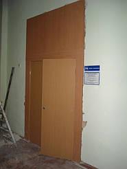 Двери двойные двухстворчатые 8