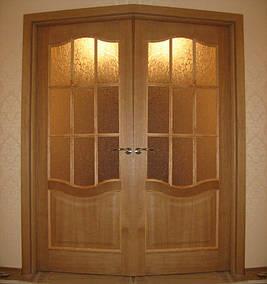 Двери двойные двухстворчатые