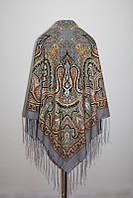 Павлопосадський сірий платок Казимира