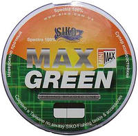 Шнур Max Green 0.12 135m 7.3kg  spectra 100%