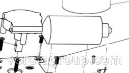Мотор-редуктор з енкодером AN-MOTORS ASG.105/1000