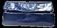 Женский кошелек из натуральной кожи синего цвета JCCS FFS-332502