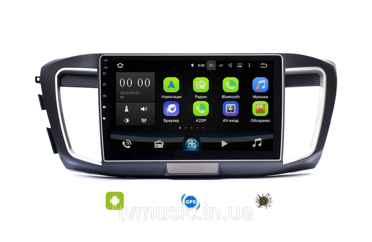 Штатная магнитола Sound Box SB-1016 (Honda Accord 2013+)