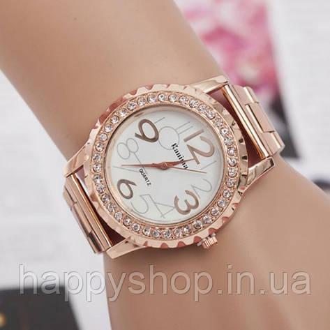Роскошные женские часы со стразами (Platinum), фото 2