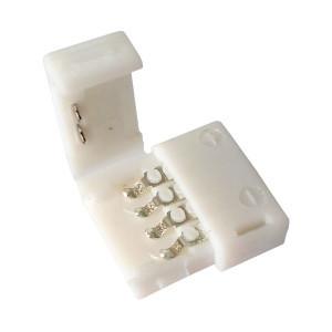 Коннектор для светодиодных лент OEM №3 10mm RGB joint (зажим-зажим)