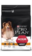 Корм для собак Pro Plan Adult Medium Курица с рисом 14 кг (подходит всем породам собак)