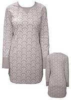 Ночная рубашка женская с принтом «EGO» SLEEPSHIRT SPL 033