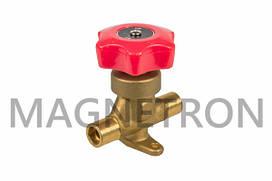 """Кран ручной (клапан) для кондиционеров 1/2"""" HAHV-1/2S (code: 16555)"""