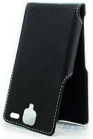Чехол Status Side Flip Series Lenovo A396 Black Matte