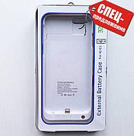 Чехол аккумулятор для iPhone 6/6s белый