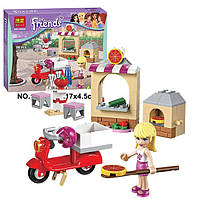 "Конструктор Bela Friends 10535 ""Пиццерия Стефани"" (аналог LEGO Friends 41092), 90 дет​алей"