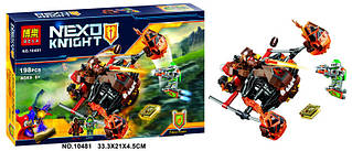 """Конструктор Bela 10481 Nexo Knights (аналог Лего 70313) """"Лавинный разрушитель Молтора"""" 198 дет"""