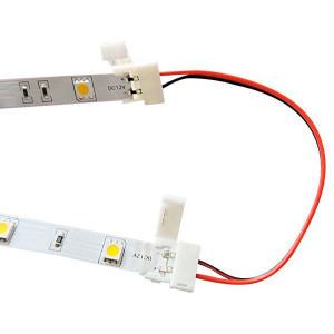 Коннектор для светодиодных лент OEM №7 10mm 2joints wire (провод- 2зажима)