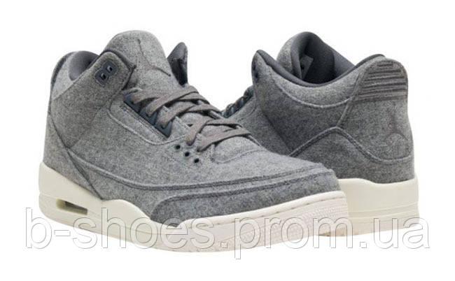 Мужские кроссовки Air Jordan Retro 3 (Woll)