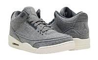 Мужские кроссовки Air Jordan Retro 3 (Woll), фото 1