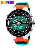 Водонепроницаемые, мужские часы Skmei 1016 shark - спортивные, ударостойкие