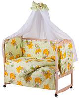 Комплект детского постельного белья в кроватку Gold 60875 Qvatro