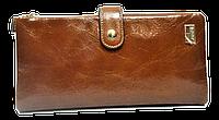 Женский кошелек из натуральной кожи коричневого цвета JCCS FFS-330000