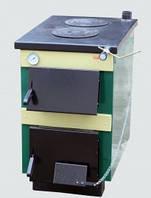 Твердотопливный котел ТИВЕР АКТВ-18 с двокамфорной плитой , фото 1