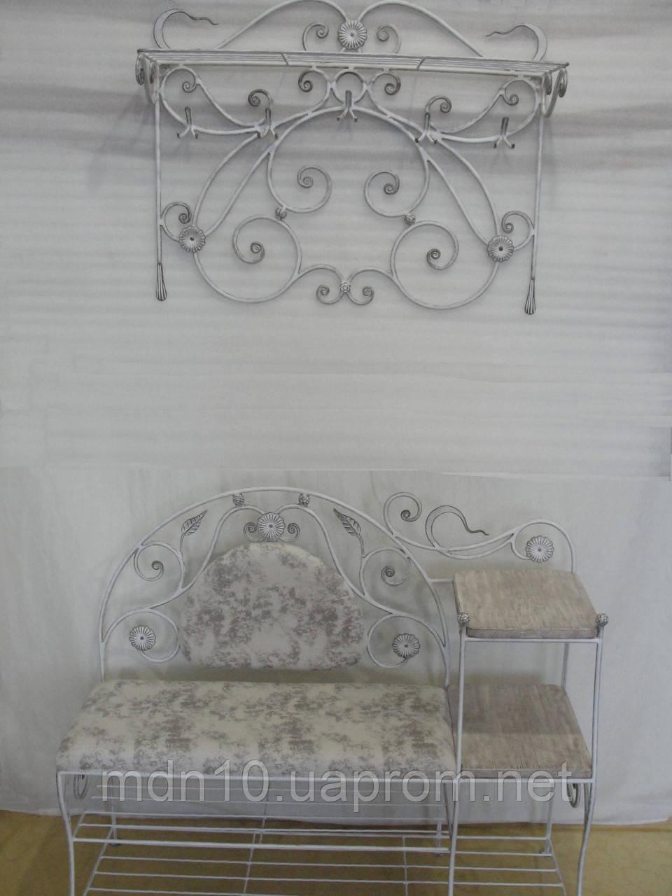 """Кованый набор мебели в прихожую  -  033 - TM """"Modnastal"""" - художественная ковка и металлоконструкции в Хмельницком"""