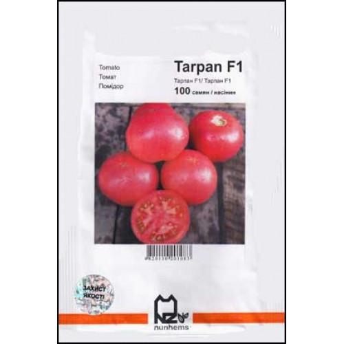 Семена томата Тарпан F1 (Nunhems/АГРОПАК+) 100 сем — ранний (98-105 дн), РОЗОВЫЙ, детерминантный