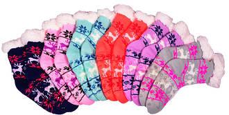 Носки тапочки детские EMI ROSS (Снежинка)
