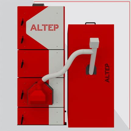 Altep твердотопливный котел длительного горения Альтеп КТ-2EPG 15 кВт, фото 2