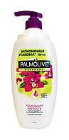 Гель-крем для душа Palmolive Натурэль Роскошная мягкость Черная орхидея и Увлажняющее молочко - 750 мл.