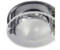 LEMANSO  AL8111 R50SG хром (круглое стекло)