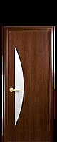 """Двери межкомнатные """"Новый Стиль-Луна"""" орех"""