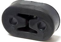 Резинка крепления глушителя Aveo, Lanos задняя (толстая, фигурная)(пр-во OEM)