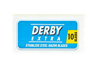 ЛЕЗВИЯ DERBY EXTRA BLUЕ 10 ШТ