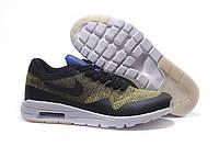 "Кроссовки Nike Air Max 87 Ultra Flyknit ""Black/Yellow/White"""