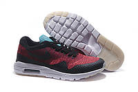 """Кроссовки Nike Air Max 87 Ultra Flyknit """"Black/Red/White"""""""