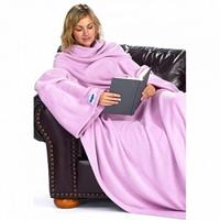 Мягкий плед с рукавами (одеяло Snuggie Blanket)
