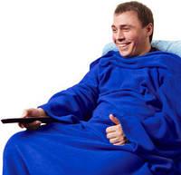 Очень теплый плед с рукавами (одеяло Snuggie)