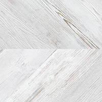 Швейцарский Пробковый пол Chevron White  Corkstyle