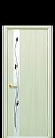 """Двери межкомнатные """"Новый Стиль-Злата"""" Рисунок 1  дуб жемчужный (глухое)"""