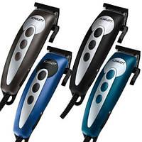 Ручная машинка для стрижки Scarlett SC-1262: 4 насадки, регулировка длины среза, ножницы, расческа