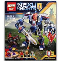 "Конструктор Lepin 14008 Nexo Knight (аналог Лего) ""Королевский Мех"" 390 дет"