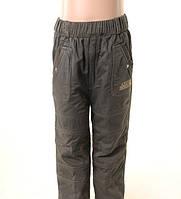 Котоновый штаны для мальчика на флисе
