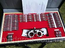 Набор офтальмологических пробных очковых линз на 158 линз с универсальной оправой
