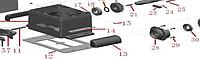 Підстава корпусу приводу ASL500 і ASL1000 з розблокуванням