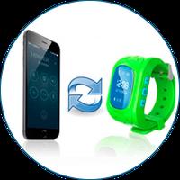 Умные детские часы Smart Baby Watch Q50  c трекером GPS (170) ZND