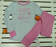 Трикотажная детская пижамка ТМ Фламинго рост 134-140,хлопковая, фото 1