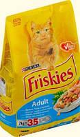 АКЦИЯ! Friskies (Фрискис)  с лососем и овощами 10 кг