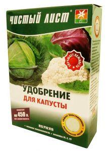 Удобрение для капусты Чистый Лист (кристал) 300г