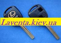 Ключ Lexus (корпус) 2 - кнопки, лезвие TOY40