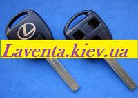 Ключ Lexus (корпус) 3 - кнопки, лезвие TOY40